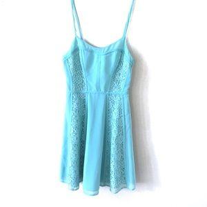Lauren Conrad Mint Lace Dress